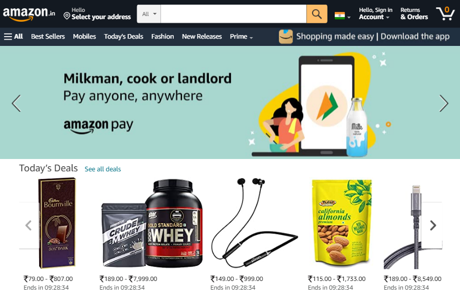 Amazons-recommendations