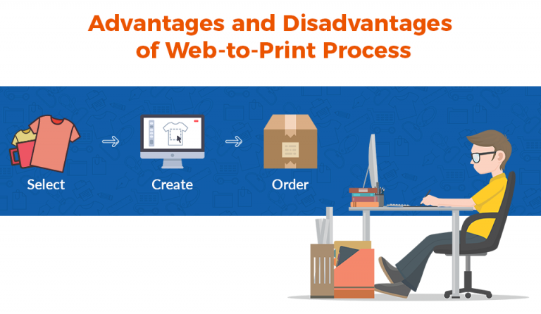 Infographic: Pros & Cons of The Web-To-Print Process