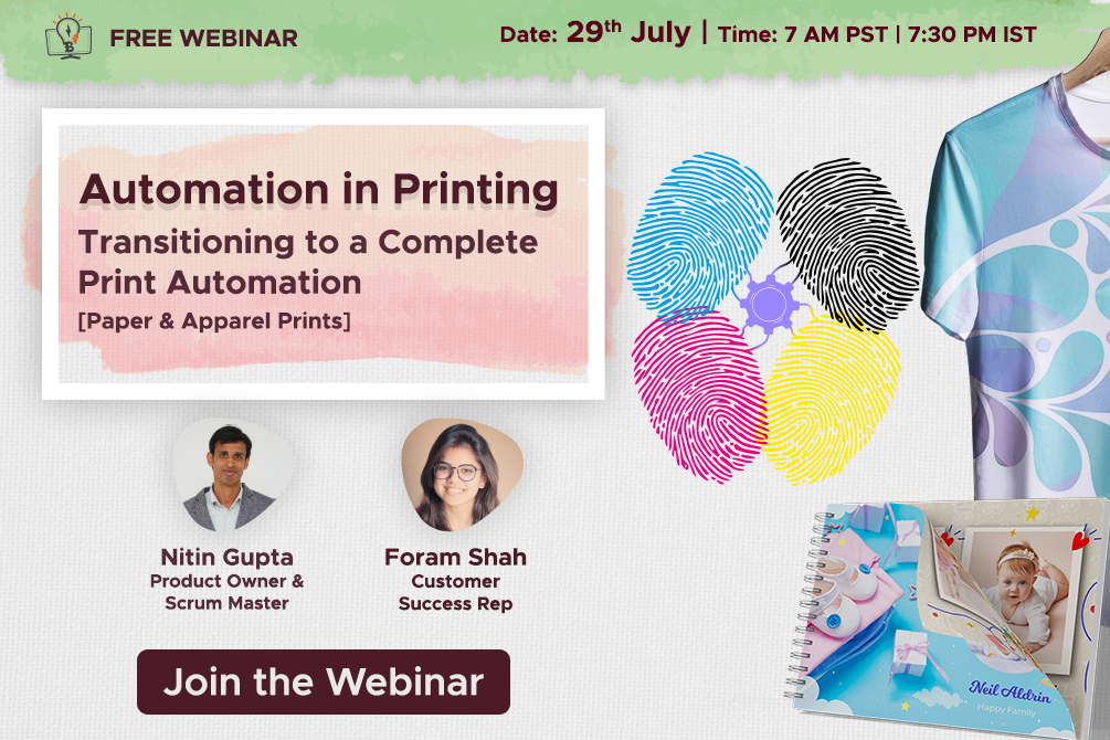 FREE WEBINAR: Transitioning to a Complete Print Automation for Paper and Apparel Prints