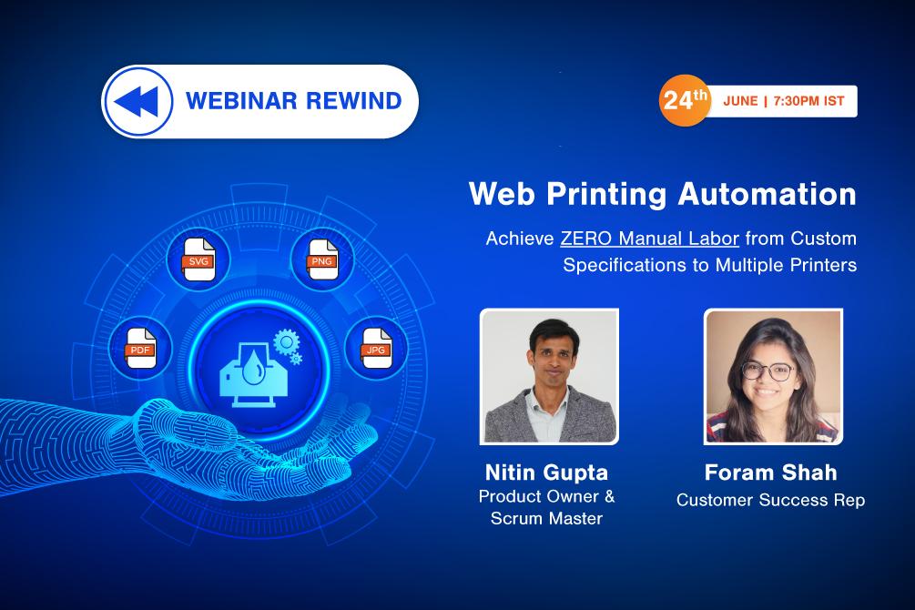 Webinar Rewind: Web Printing Automation