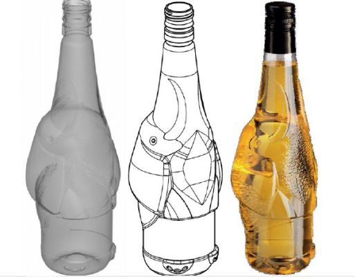 Sipas 3D Bottles