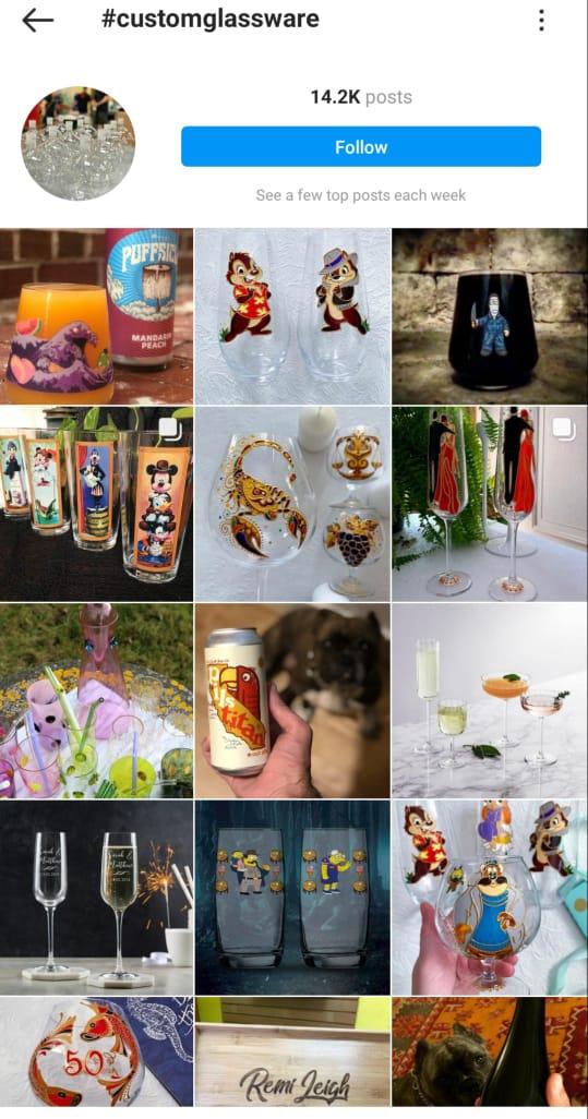 customglassware on Instagram