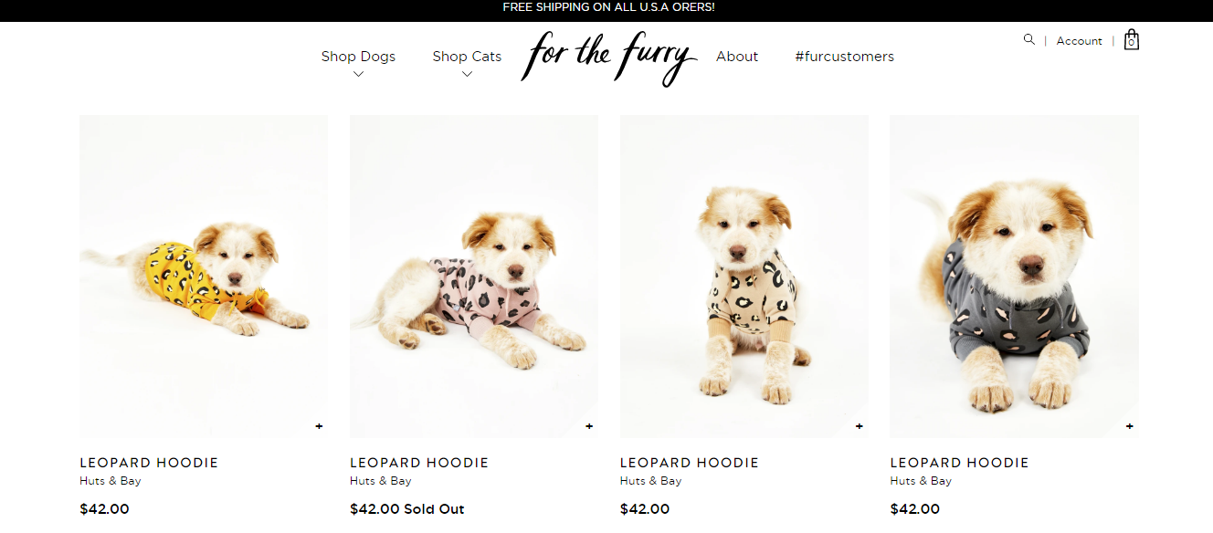 Dog Clothing Collection
