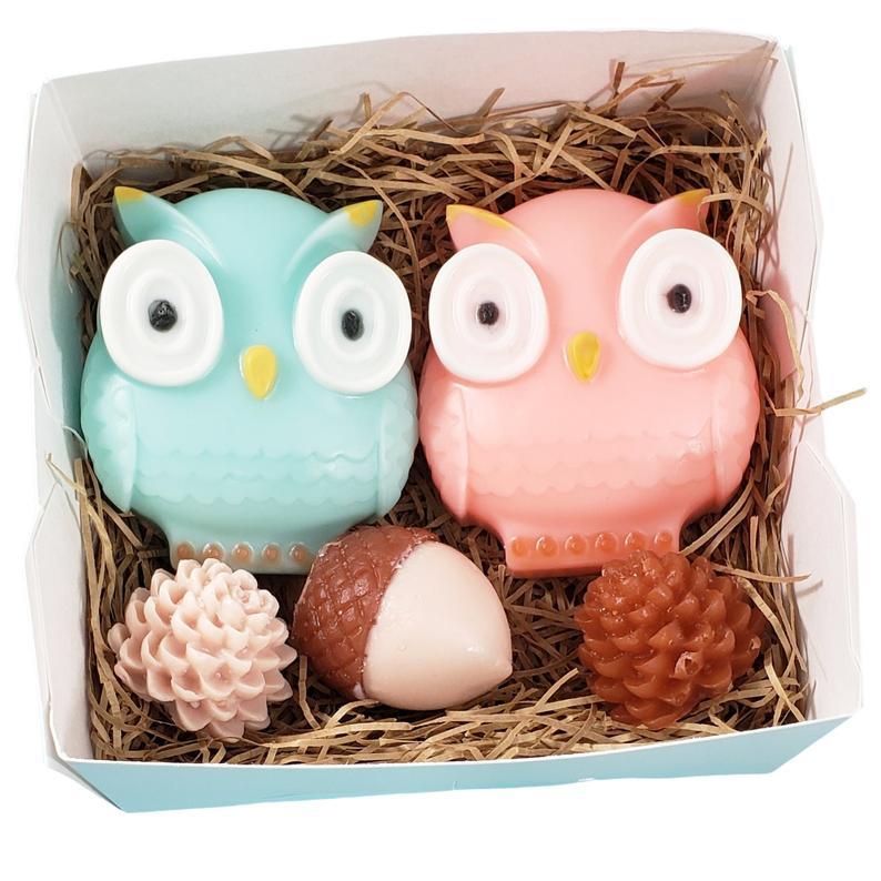 Owl-shaped Bath Soap