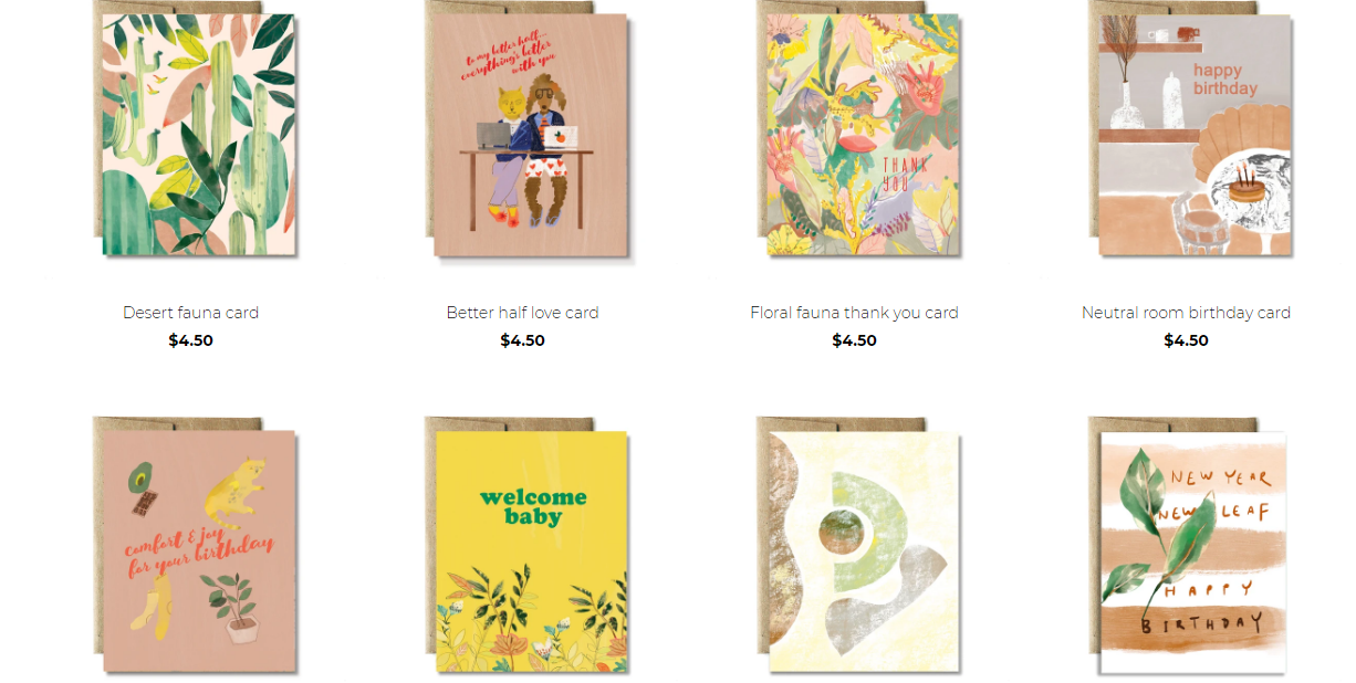 Card Collection by Ferme