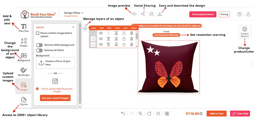 Customization Easy With Product Designer Tool