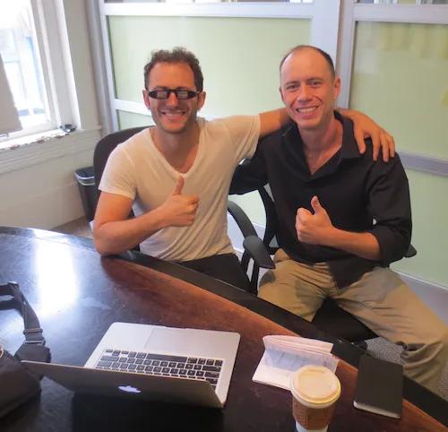 Daniel with Author Tim Ferriss