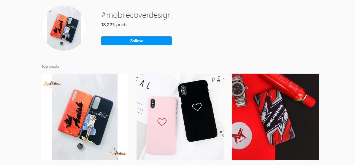 Instagram Using Relevant Hashtags