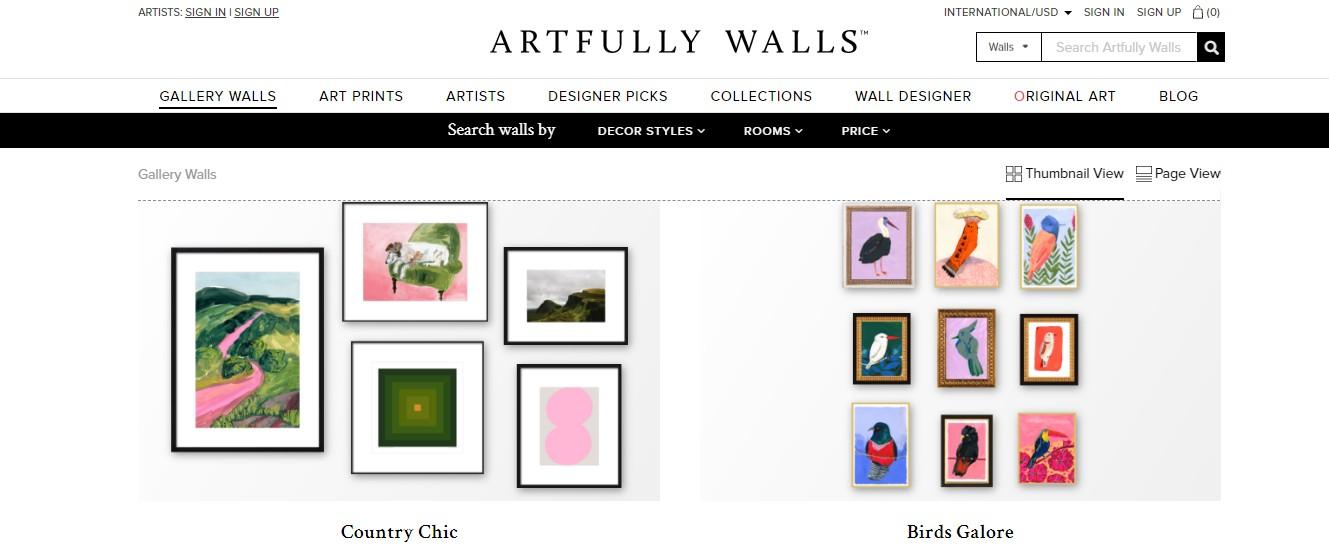 Artfully Walls sells