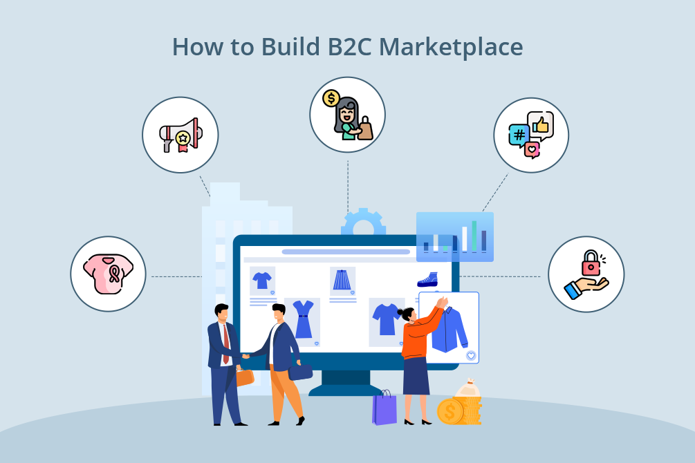 How to Build B2C Online Marketplace: From 0 to Launch