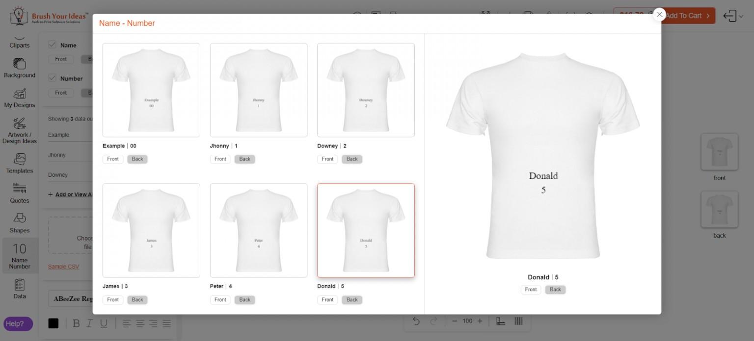 customers customize bulk orders