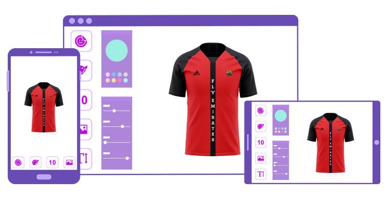 Sports Uniforms Design Tool