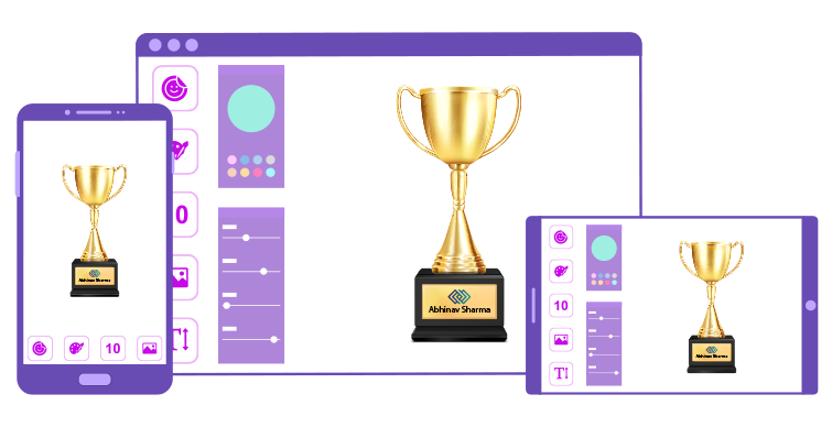 Trophy Design Tool