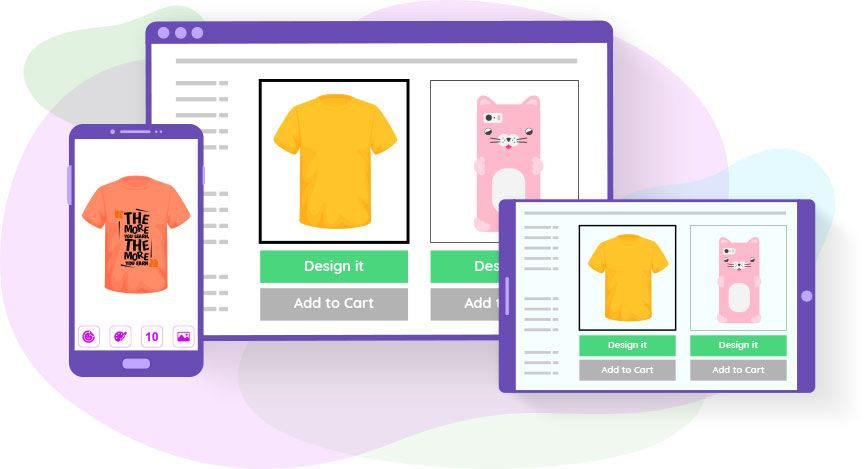 Web to Print store