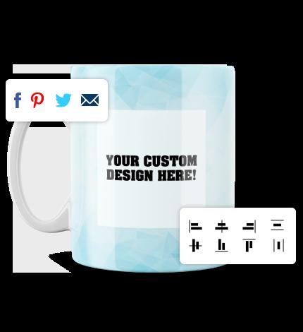 Mug Designer Tool - Other Features