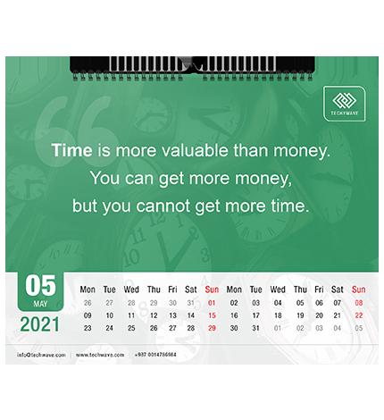 Photo Calendar Design Tool - Text Features